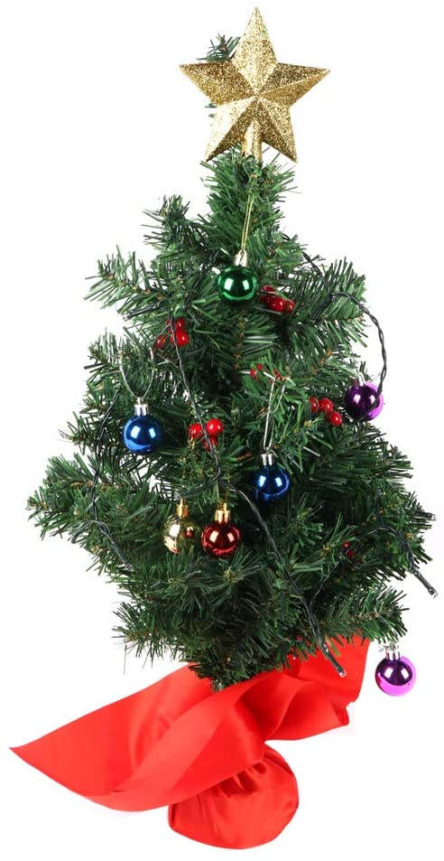 BIG.TREE Christmas Tree Ornaments Christmas Decoration Tree Decor (24 Inch)