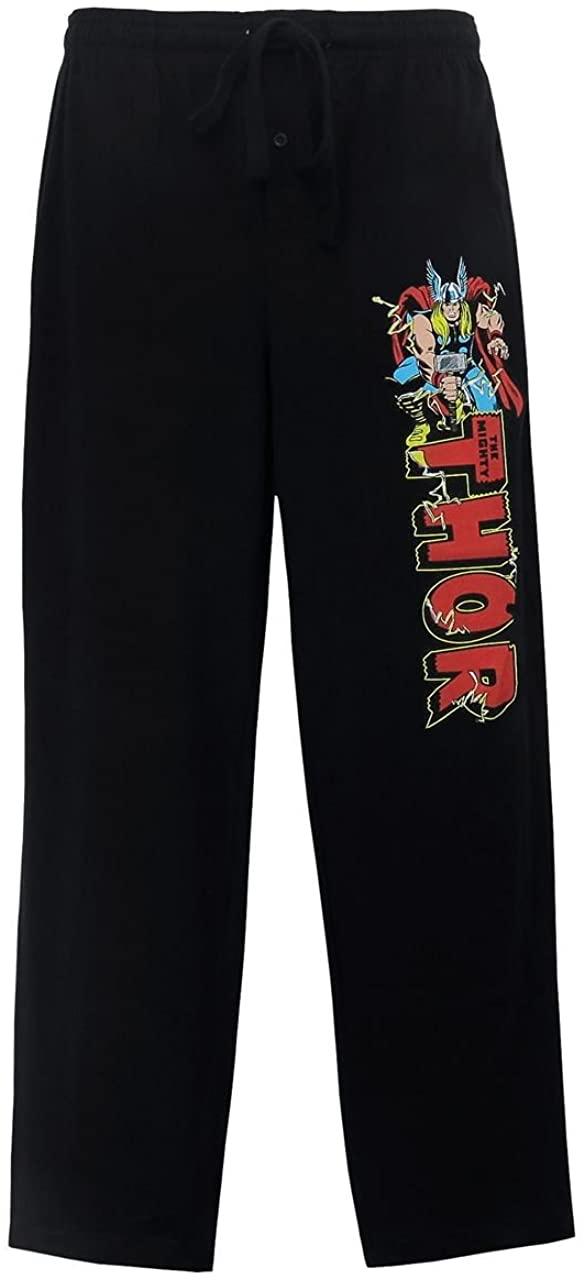 SuperHeroStuff Thor Logo Jack Kirby Men's Pajama Pants