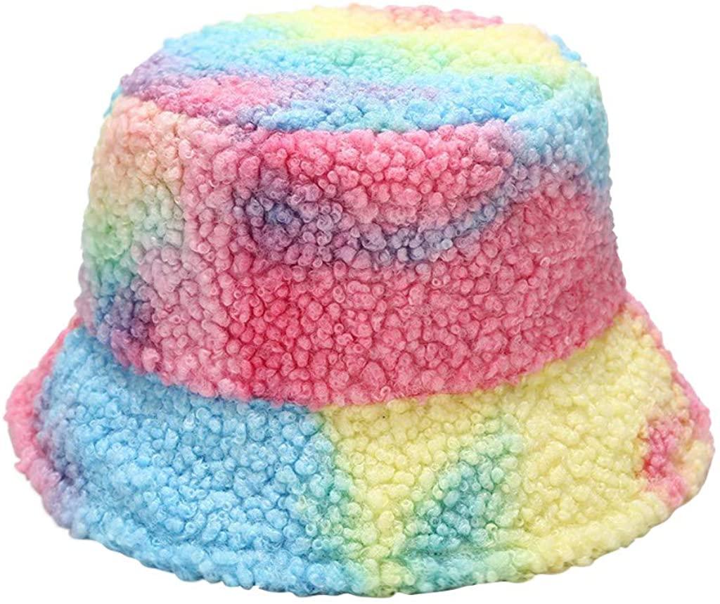 Fisherman Hat Bucket Hat Teddy Style Winter Hat Warm Windproof Leatherette