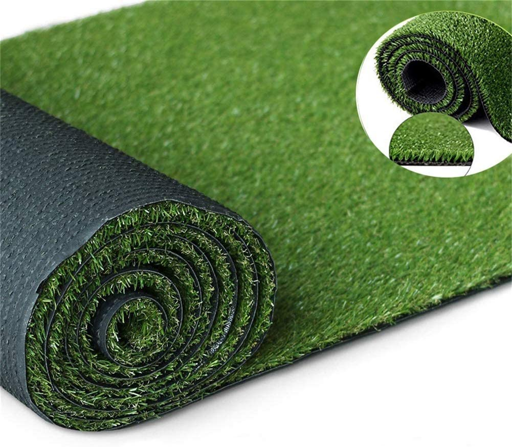 Moxie Direct Artificial Grass Turf Lawn, 10Feet X 20Feet Realistic Indoor Outdoor Garden Balcony Decor Landscape Synthetic Fake Grass Pet Rug Carpet