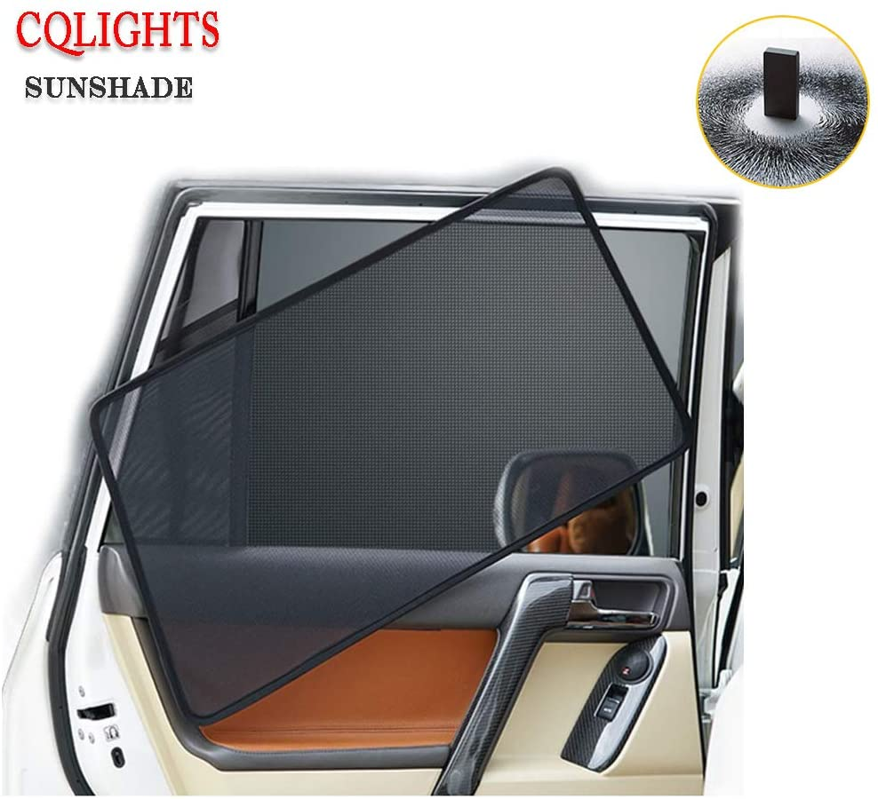 Car Window Sunshade Magnetic for Forester 2013-2018-Sun Glare and UV Rays Protection for Your Child -Baby Interior Light Shielding Curtain Sunscreen Shade 6 pcs/Set