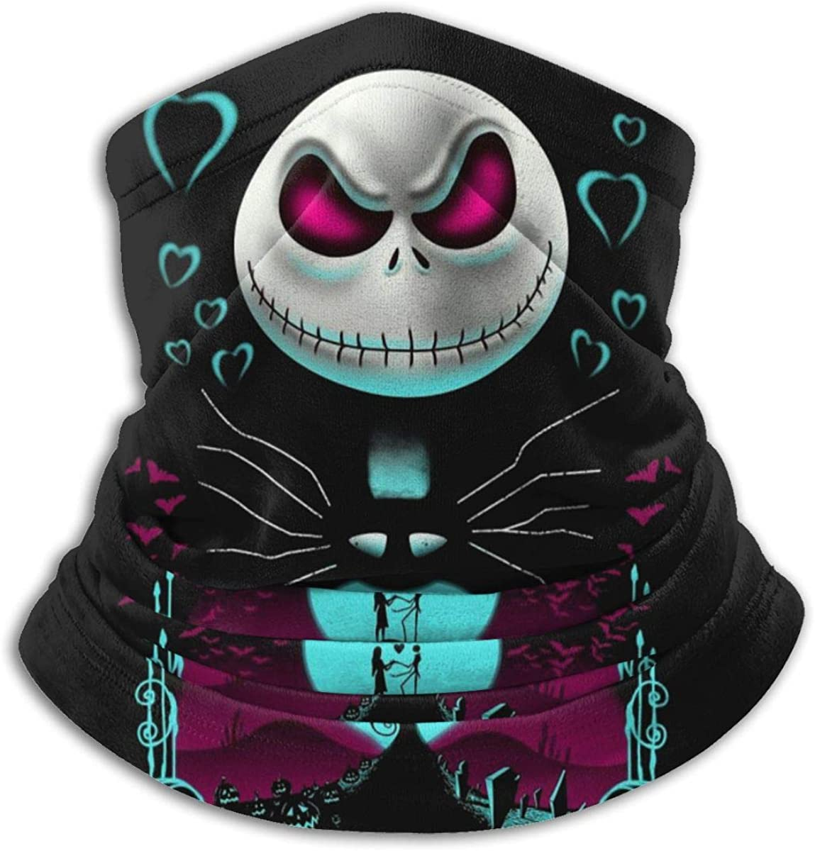 Nightmare Before Christmas Neck Warmer Scarf Gaiter Headwear Face Mask Bandanas