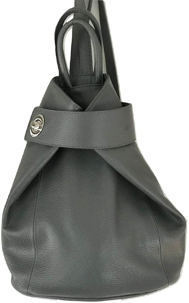 LaGaksta Stella Leather Backpack Purse