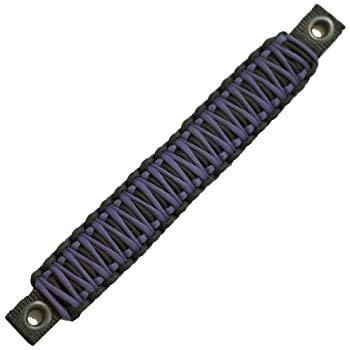 Bartact TAOGHRPBV - Wrangler JK Rear Side Sound Bar Paracord Grab Handles (Pair) - Made in USA - Black/Purple