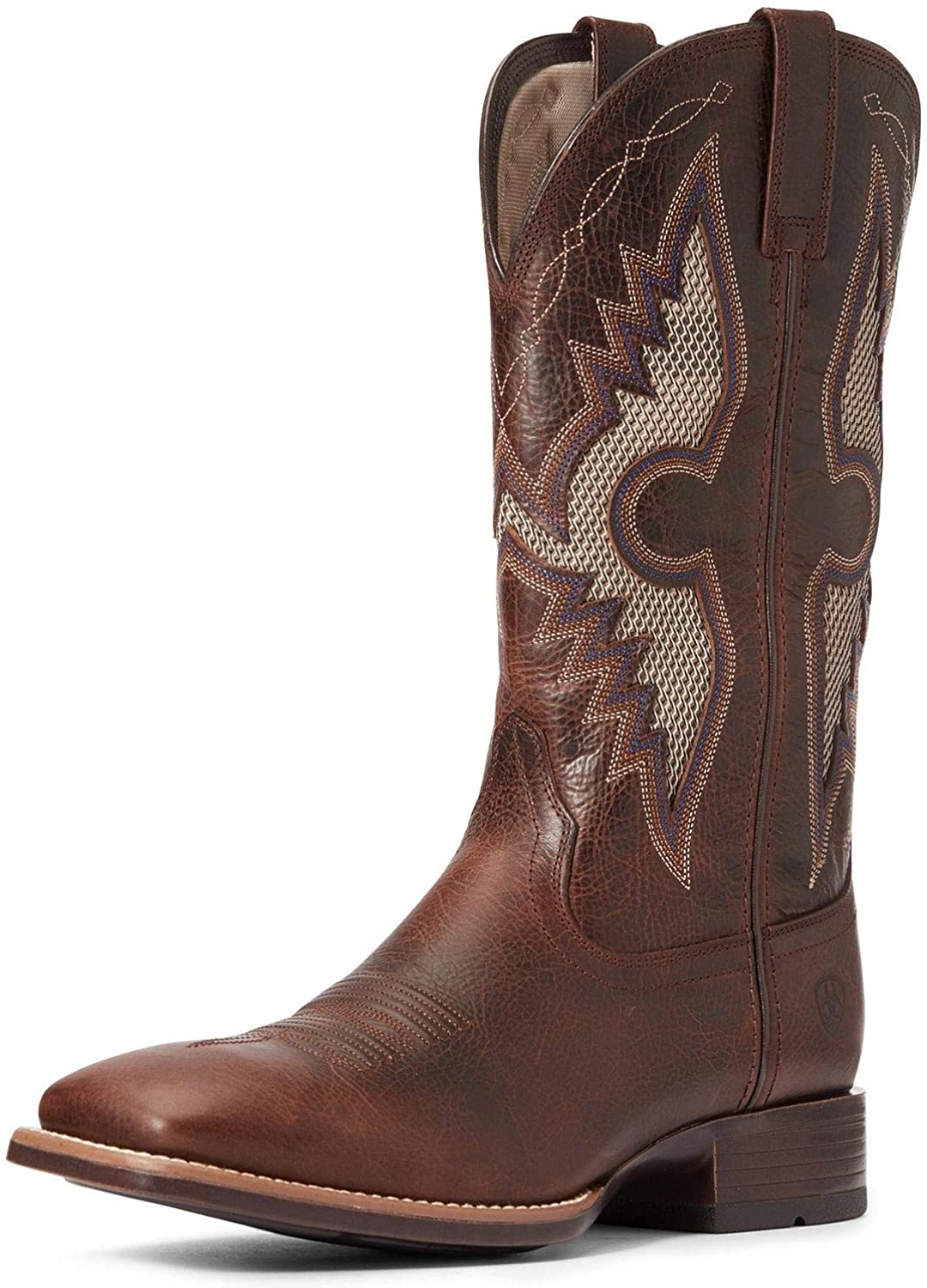ARIAT Men's Solado Venttek Western Boot Wide Square Toe