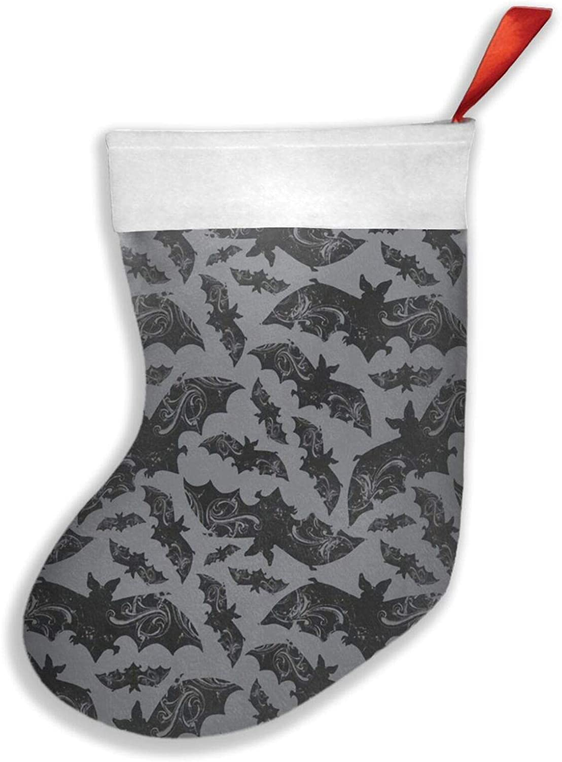 antkondnm Halloween Bats Christmas Christmas Stockings 16.5 Inches Decorations for Family Holiday Xmas Party Decor