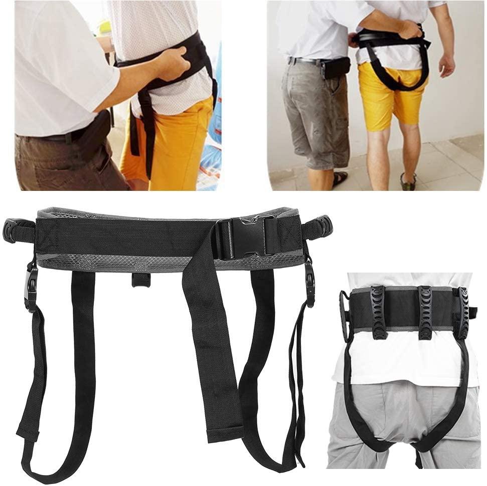 Breathable Secure Transfer Gait Belt,Transfer Moving Belt with Handles and Quick Release Elderly Care Nursing Safety Gait Assist Belt,Gait Belts Transfer Belts