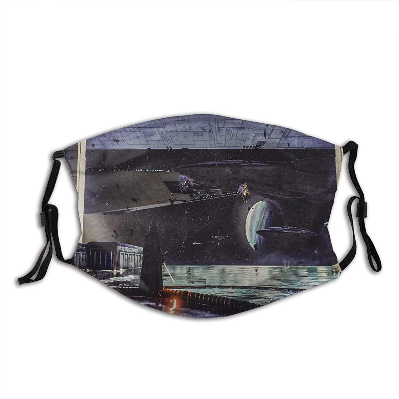 Face Cover Reusable Star Wars Summer Bandana Fabric Face Cover for Men Women