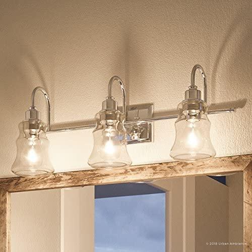 Luxury Vintage Bathroom Vanity Light, Large Size: 9.25