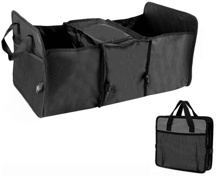 WINOMO Car Van Truck Storage Bag Organizer Multipurpose Tidy Large Cace (Black)