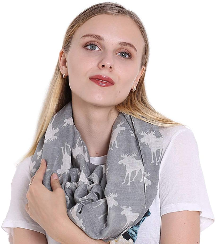 The Twins Dream Women Infinity Scarf Wrap Scarves Neckchief Best Gift