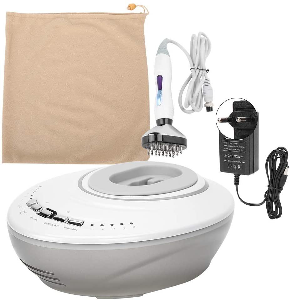 Electric Scalp Massager Portable Head Scratcher Massager Hair Growth Therapy Machine Scalp Head Massager, Stress Release Full Body Massage (110‑240V)(US Plug)