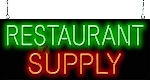 Restaurant Supply Neon Sign