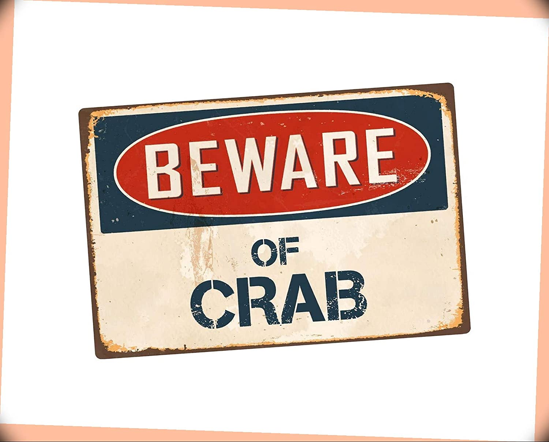 NewSSign Beware of Crab 8