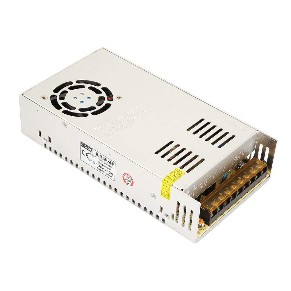 Strip Voltage Converter Power Supply, 110V-220V AC 36V/10A Switching Power Supply Driver Adapter Voltage Converter 360W