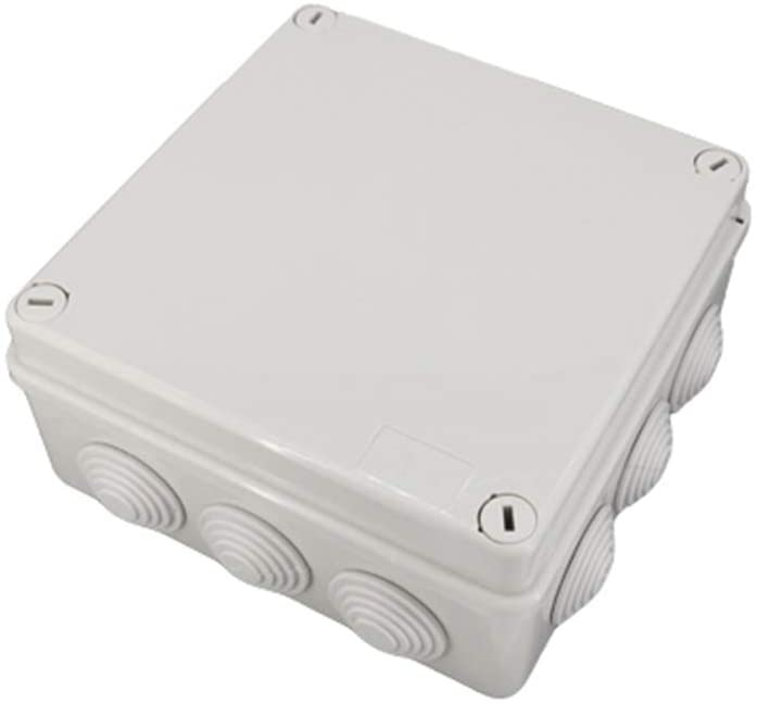 Waterproof Junction Box Wholesale ABS Plastic IP65 DIY Outdoor Electrical Connection box Cable Branch box opening with Waterproof plug 150x150x70mm