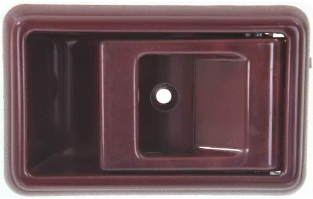 For Toyota 4Runner Interior Door Handle Front, Passenger Side Red (1990-1995) | Without Door Lock Hole| Trim: SR5