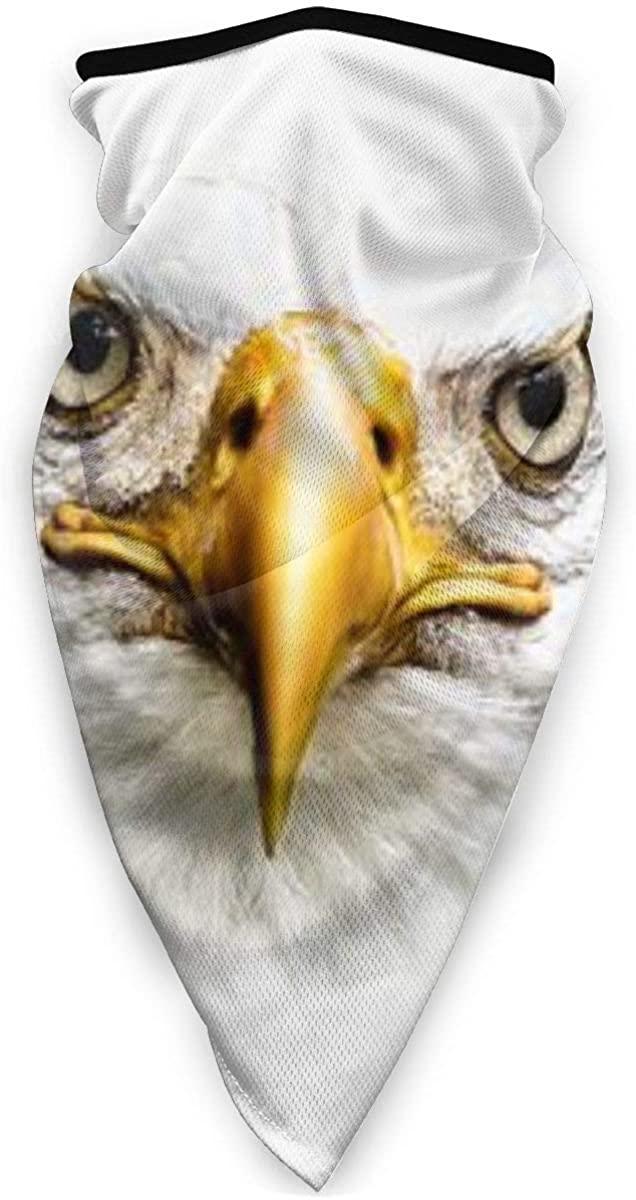 American Owl Windproof Sports Mask,balaclava,Unisex Bandana Face Mask Neck Gaiter Headwear Tube Mask Scarf