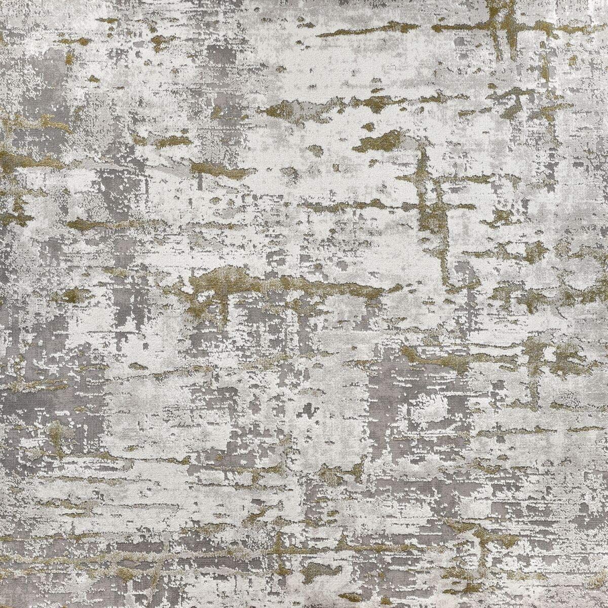 Kane Carpet 10' x 10' Gifted Green and Ivory Dyed Square Area Throw Rug