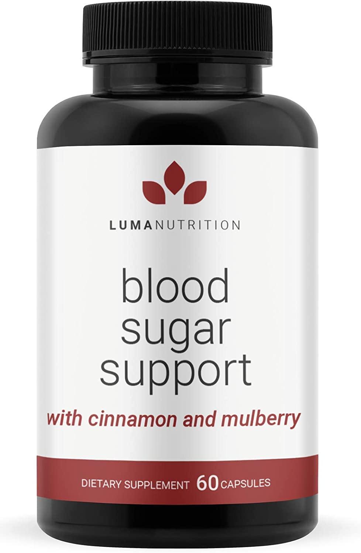 Blood Sugar Support Supplement - Sugar Balance - Alpha Lipoic Acid & Cinnamon & Bitter Melon - Premium Blood Sugar Control Capsules - Made in USA