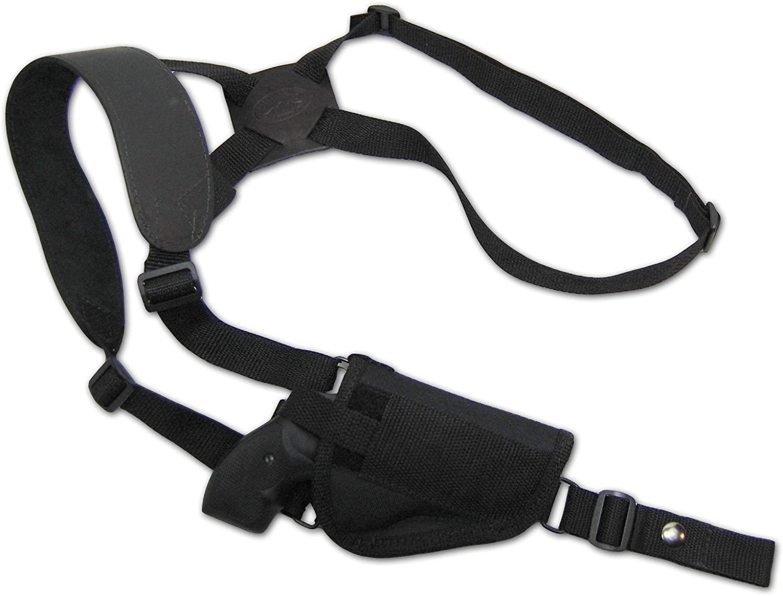 Barsony New Cross Harness Vertical Shoulder Holster for 2
