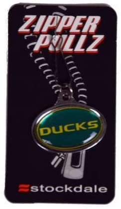 Stockdale Oregon Ducks Logo Zipper Tag