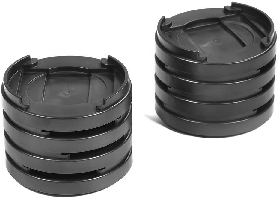 Greensen Furniture Riser, 8 pcs Plastic Non-Slip Bed Riser Heavy Duty Furniture Riser for Sofa Table Chair Bed Furniture(Black)
