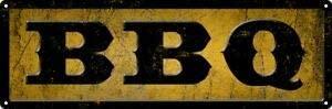Slim Tin Sign BBQ Wall Decor 16 x 4