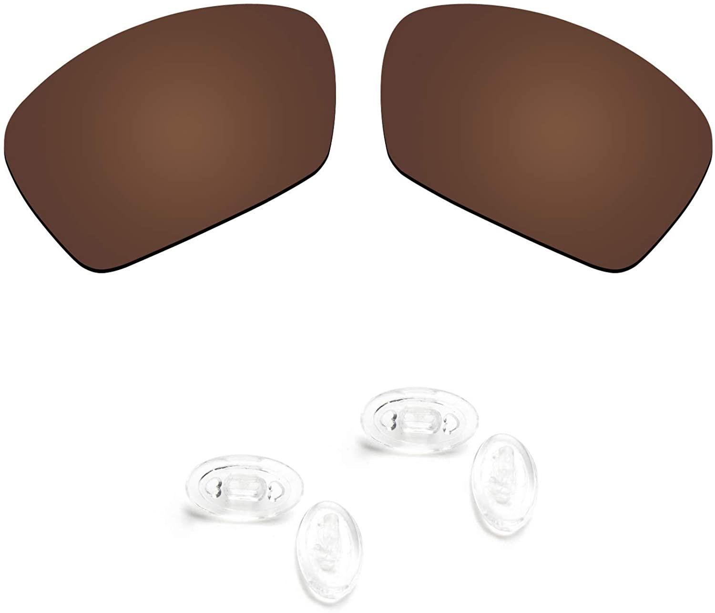 Replacement Lenses & Nosepads for Oakley Plaintiff Squared Sunglasses