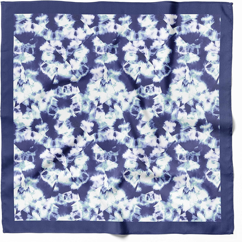 VERTU SCARF -Bandanas For Women and Bandanas For Men Satin Silk Washable Bandanas Reusable Cloth Bandanas Dust & Sun Protection Fashionable Novelty Headbands