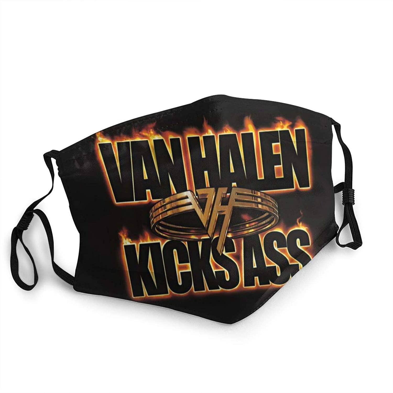 Eddie Van Halen Face_Mask Pure Cotton Restoring Ancient Ways Daily use