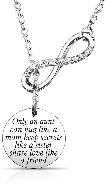 EIGSO Aunt Bracelet Best Aunt Bracelet New Aunt Jewelry Auntie Gift from Nephew Niece