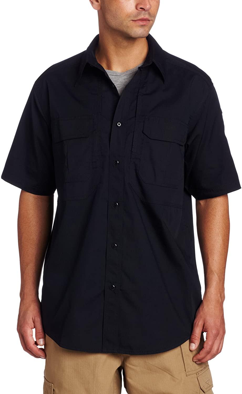 5.11 Tactical Taclite Pro Short-Sleeve Shirt,Dark Navy,2X-Large