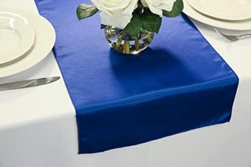 Zhen Linen L'Amour Satin Wedding Table Runner 14