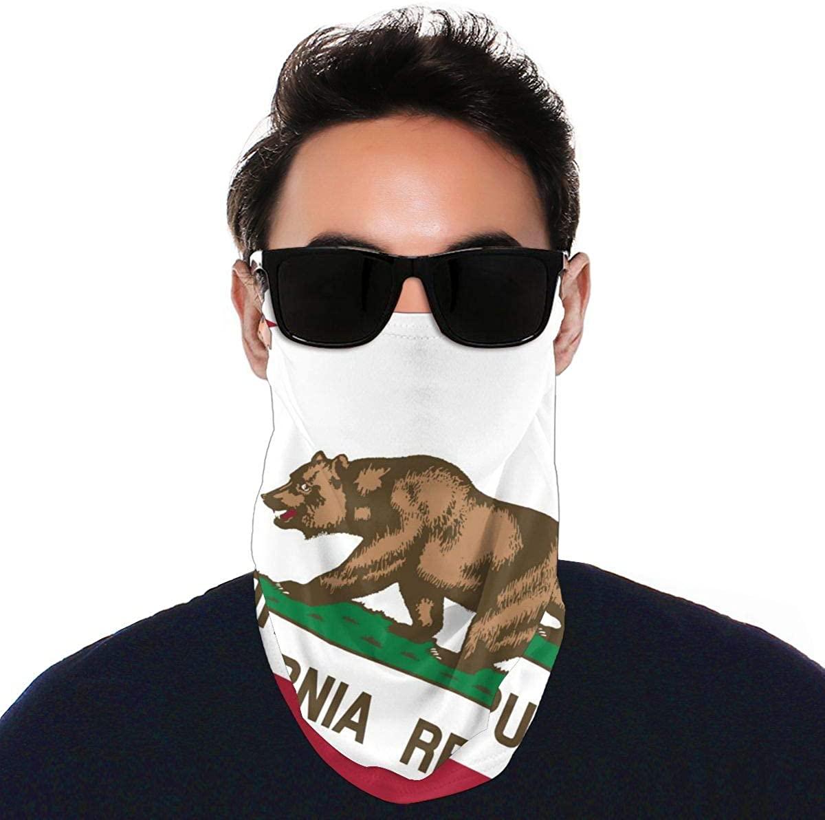 Customized National Flag, Reusable, Scarf, dust mask, UV Protection