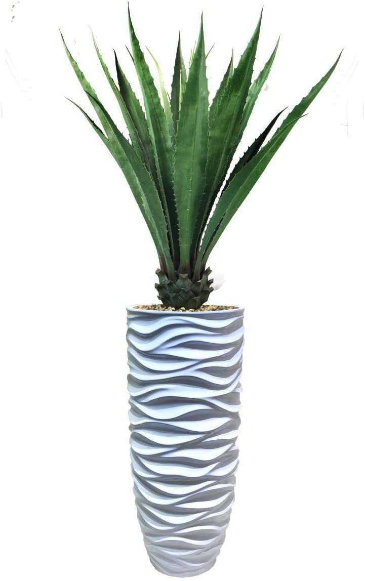 Vintage Home Faux Décor Artificial Agave, Indoor/Outdoor in Resin Planter, 73