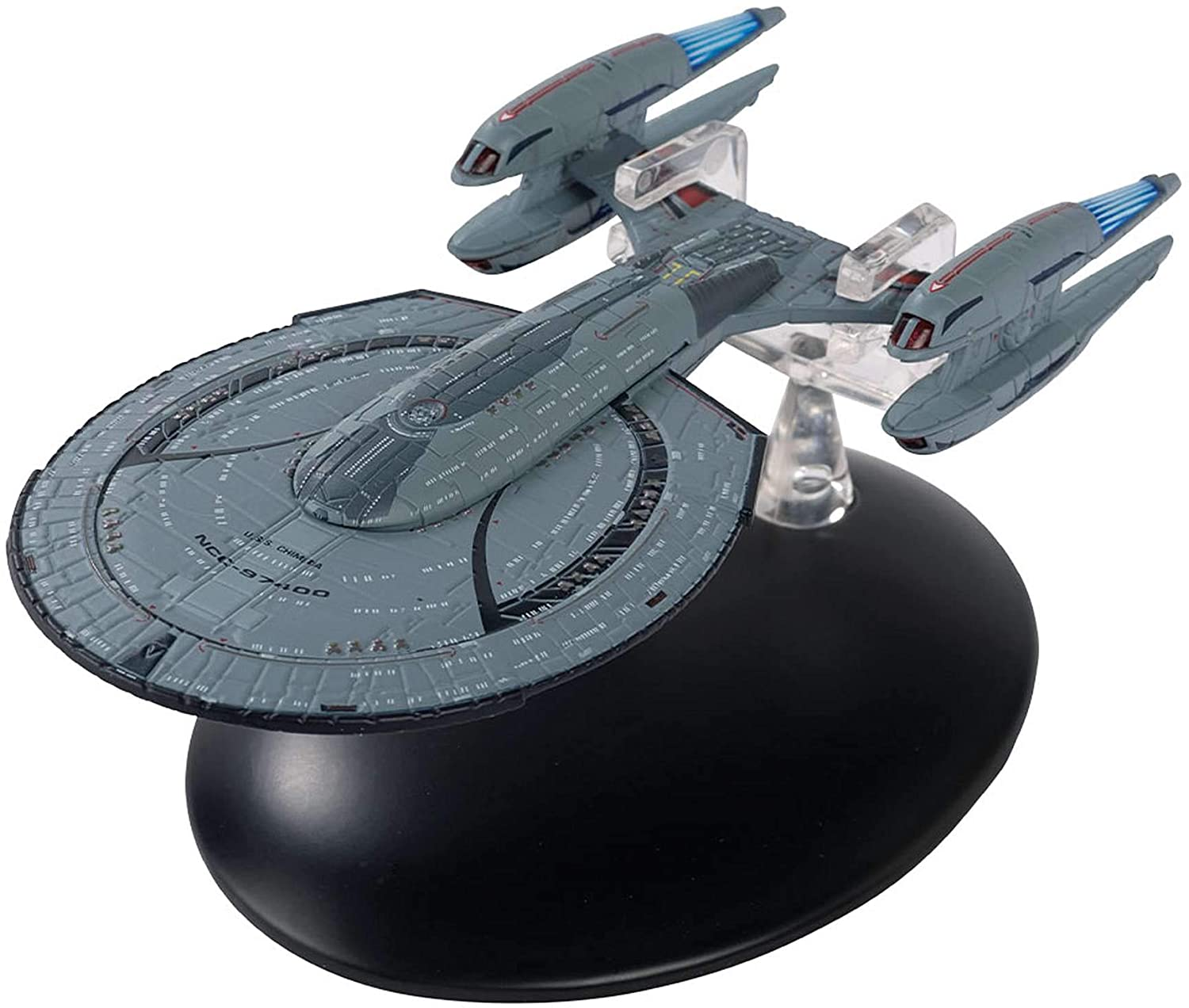 The Official Star Trek Online Starships Collection | U.S.S. Chimera NCC-97400 with Magazine Issue 2 by Eaglemoss Hero Collector