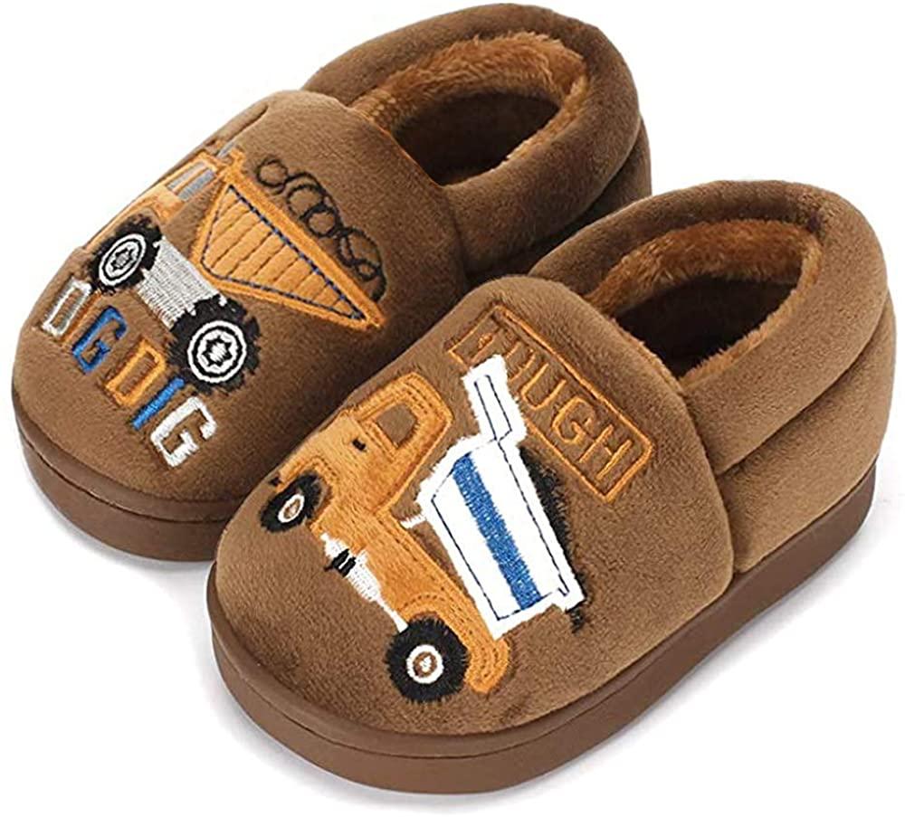 Juxi Toddler Slippers Girls Boys Winter Cotton Kids Slippers