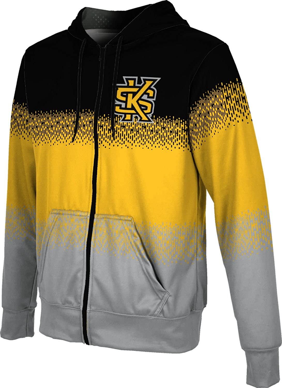 ProSphere Kennesaw State University Boys' Zipper Hoodie, School Spirit Sweatshirt (Drip)