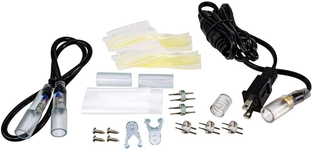 Brilliant Brand Lighting 120 Volt LED Rope Light Accessory Bundle