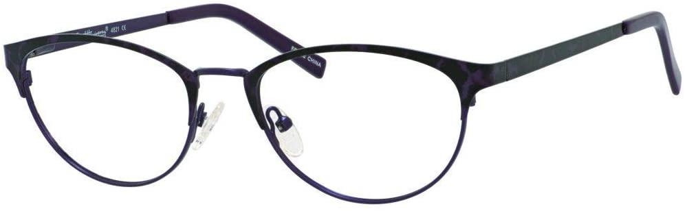 Ernest Hemingway H4821 Womens Cat Eye Frame Reading Eyeglasses in Eggplant 52 mm