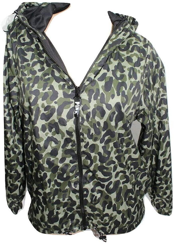 Pink Anorak Windbreaker Jacket Color Camo X-Small/Small NWT