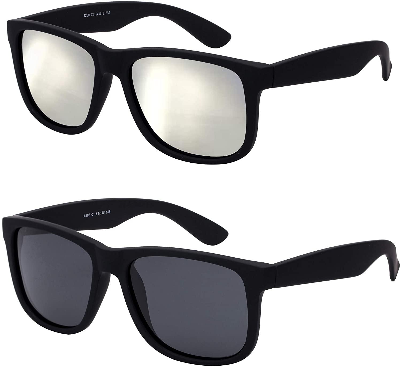 Noveltyz Unisex Polarized Square Sunglasses