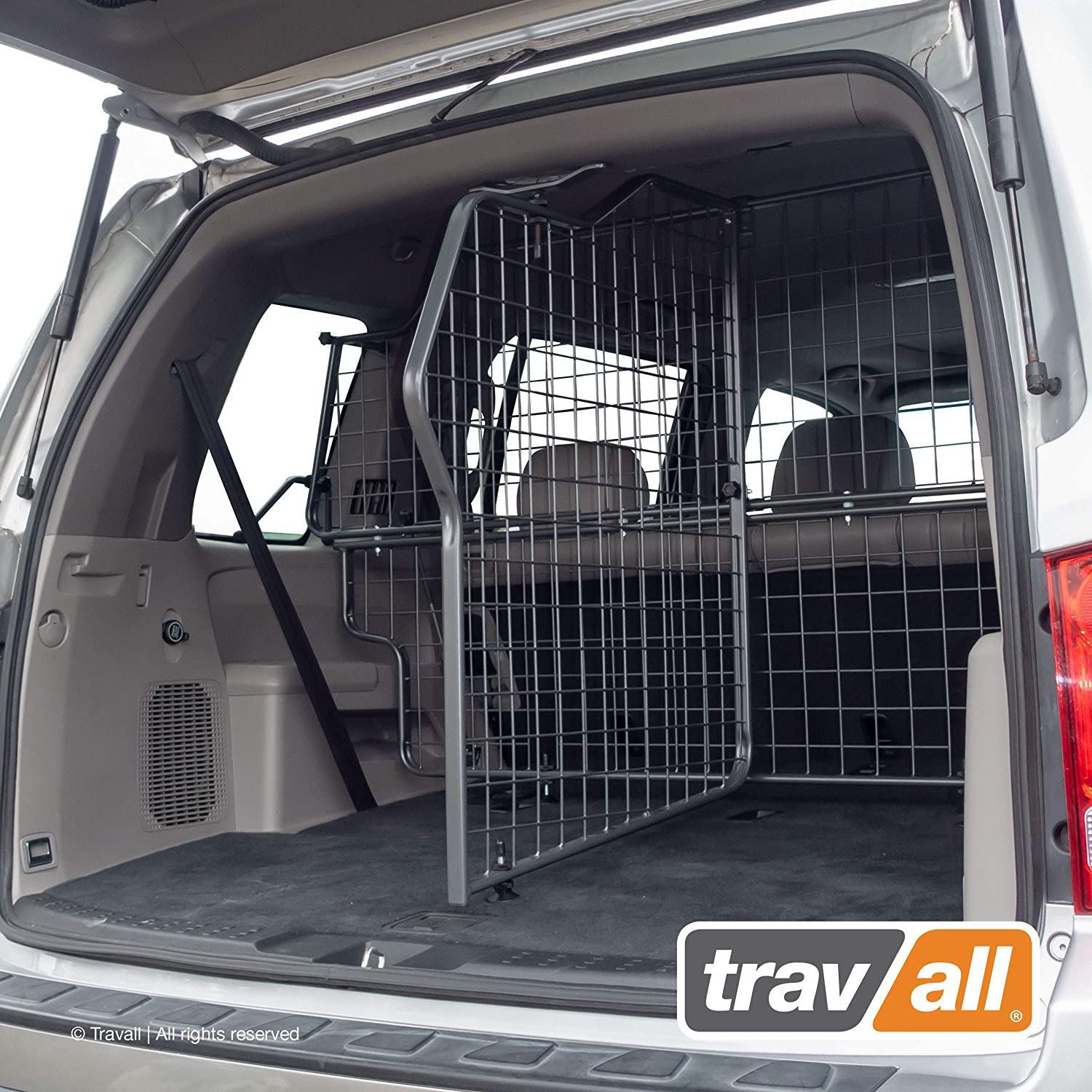 Travall Guard Safety Pack Compatible with Honda Pilot (2008-2015) - Steel Pet and Baggage Barrier TDG1570 and Trunk Divider TDG1570D