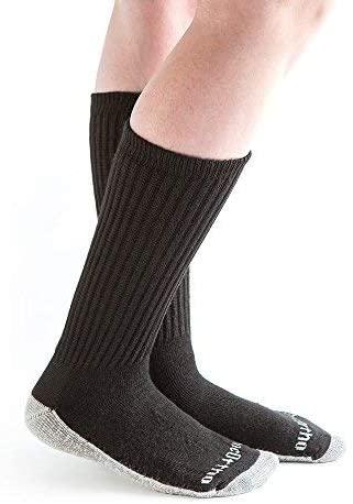 Doc Ortho Ultra Soft Silver Diabetic Socks, 8 Pairs, Crew