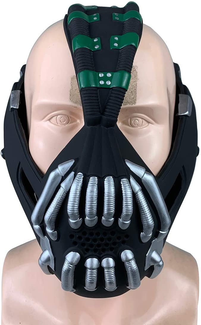 Liuyb Bane Mask for Adult The Dark Knight Rises Cosplay Costume Halloween X-mas Cosplay Batman Mask Props