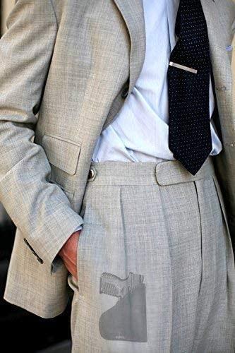 Garrison Grip Custom Fit Leather-Trimmed Pocket Holster Concealed Carry Comfort, Springfield XDs 45 w/Laser (D)
