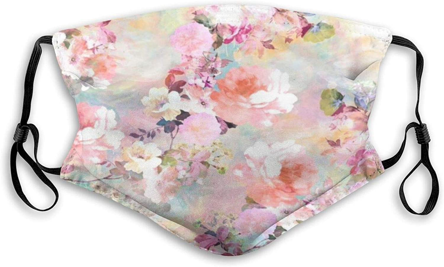 Fillter Face Cloth For anyone,man and woman,Flower Inspiration,Cold Mouth Dustproof Double Protection