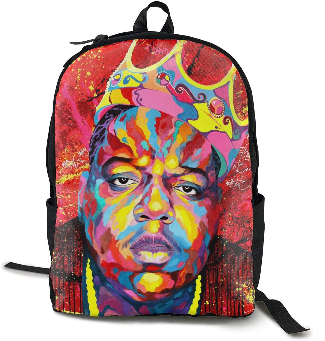 The Notorious B.I.G Unisex Backpack Hiking Backpack Travel Sports Bag College Bags