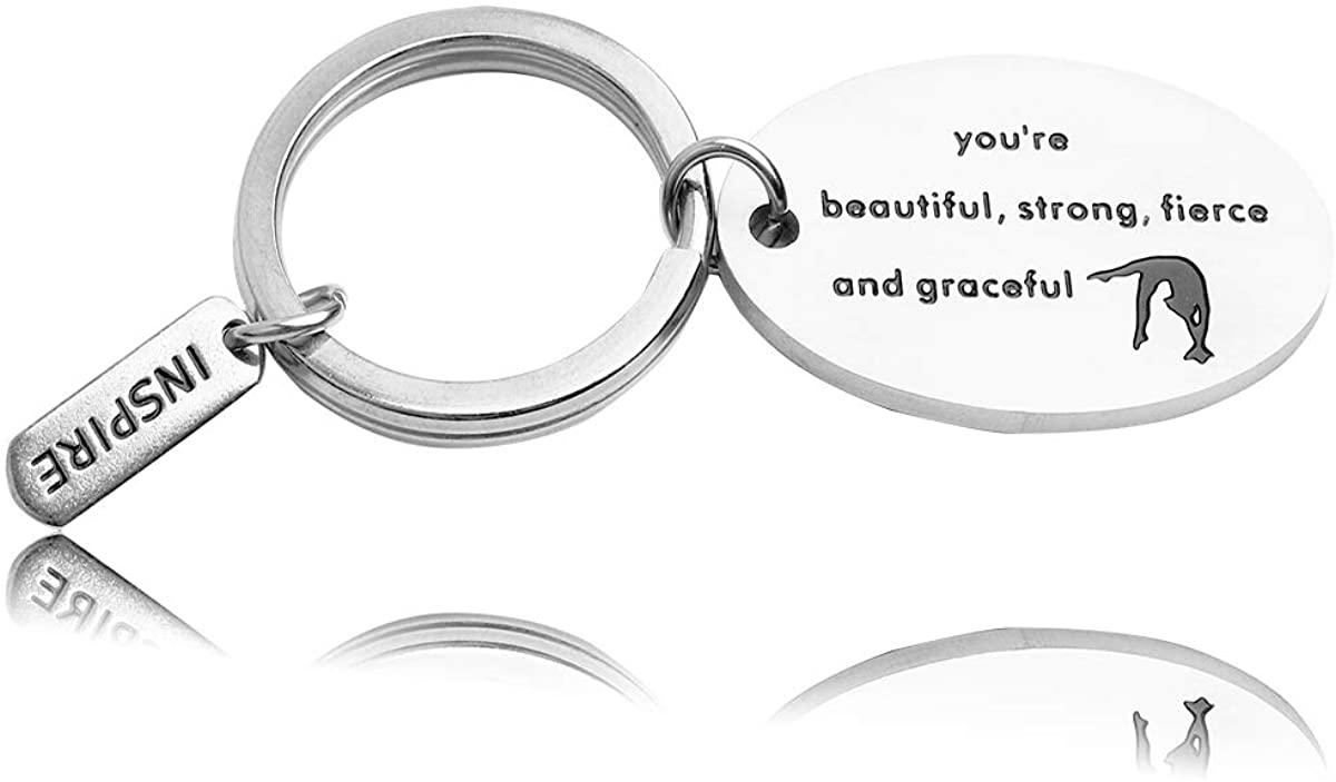 REEBOOO Gymnastics Bracelet Gymnastic Jewelry Birthday Gifts for Her
